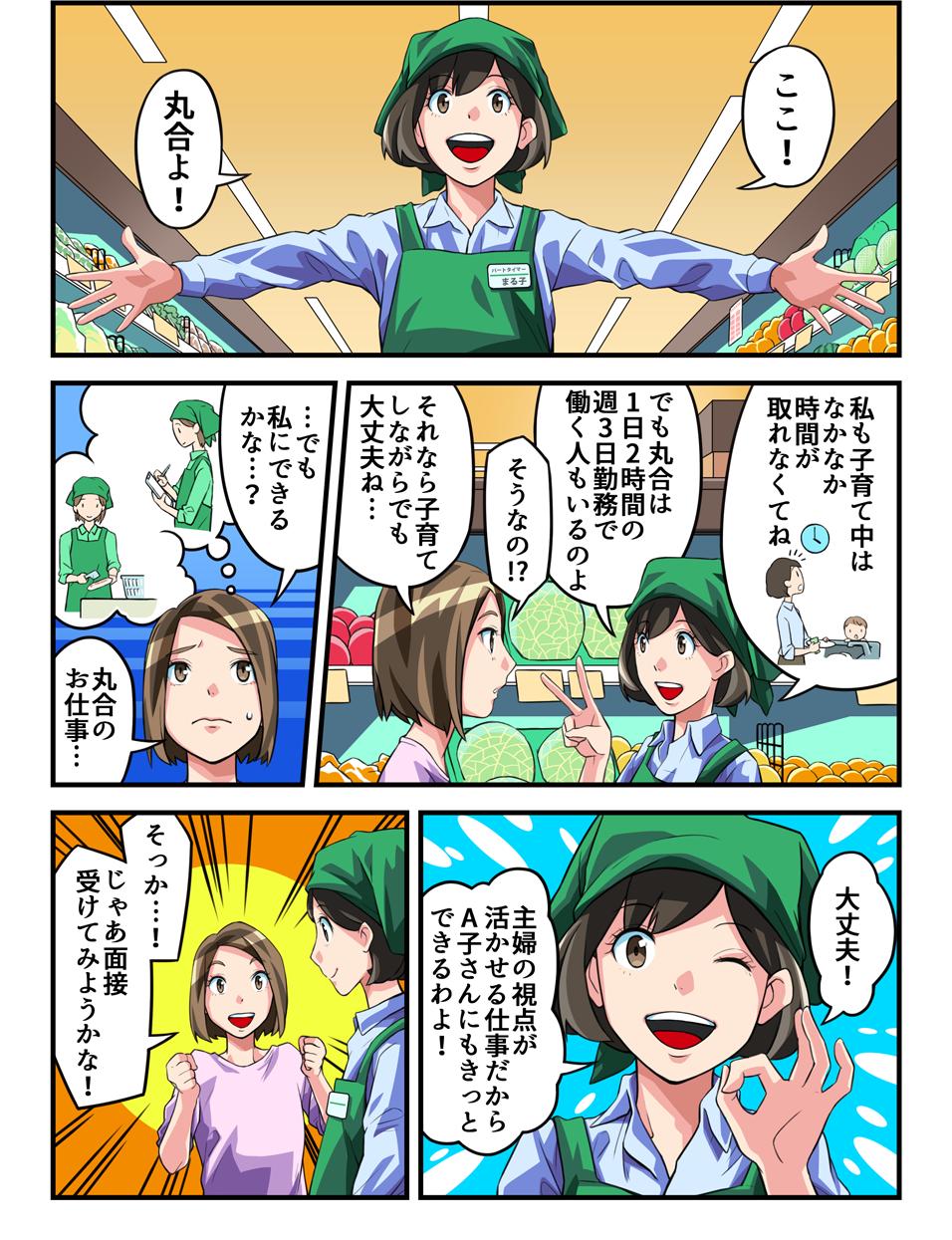 マンガ「まるごうパートナー物語」3